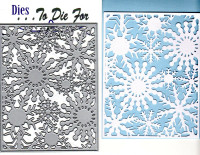 Dies ... to die for metal cutting craft die Snowflake background plate