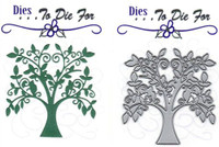 Dies ... to die for metal cutting craft die - Summer / Family tree