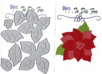 Dies...to die for metal cutting craft die Large Poinsettia #1