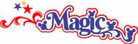 Magic Vacation Laser Title Strip