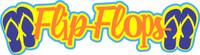 Flip Flops Laser Title Strip