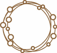Frame Open Circles - Chipboard Embellishment
