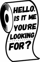 Hello, is it me your're looking for? - Laser Die Cut