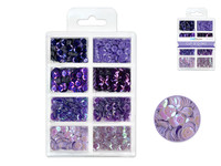 Craft Medley -  Sequins - Viola