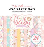 ECHO PARK - HELLO BABY 6 X 6 PAPER PAD