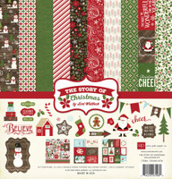 ECHO PARK - THE STORY OF CHRISTMAS COLLECTION KIT
