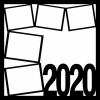 2020 - and or/ SHIT GOT REAL PG 1 -  12 X 12 SCRAPBOOK OL
