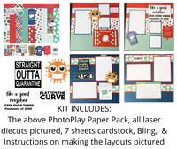 Quarantine Scrapbook  Kit - 12 x 12 Layouts