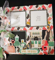 WHAT A GIRL WANTS- CHIPBOARD ALBUM KIT- designed by Terre Fry