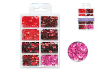 Craft Medley -  Sequins - Rouge