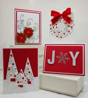 Christmas Card Kit #2 - (Free Shipping) Designed by Terre Fry (click for full description)