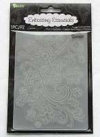 EMBOSSING FOLDER-SNOWFLAKE SWIRLS