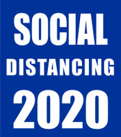 SOCIAL DISTANCING 2020 -Laser Die Cut