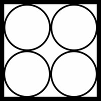JUST 4 CIRCLES - 12 X 12 SCRAPBOOK OL