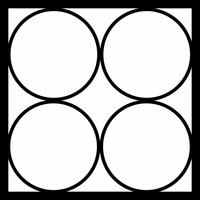 JUST 4 CIRCLES - 12 X 12 SCRAPBOOK OL