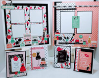 IT'S A GIRL THING KIT - SEE VIDEO OF ALL THINGS INCLUDED IN KIT - designed by Terre Fry