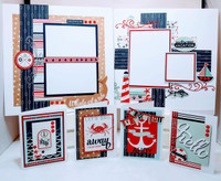 AHOY THERE KIT - SEE VIDEO OF ALL THINGS INCLUDED IN KIT - designed by Terre Fry