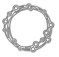 Want2scrap - Open Circles Frame Die