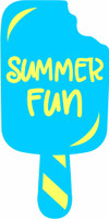 Popsicle Summer Fun - Laser Die Cut