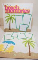 Beach Memories Scrapbook Kit