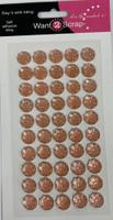 Iced Diamonds -  LIGHT ORANGE 50 Count