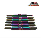RCSS Xray XB4 Beast Mode Titanium Turnbuckle (Bada Bling)