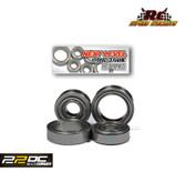"Rc Speed Secrets ""Next Level"" Hybrid Ceramic Hub Bearings Stainless  for TLR 22 5.0 ELITE Series Vehicles"