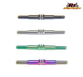 RCSS TLR 22x-4 Beast Mode Titanium Turnbuckle Set (Bada Bling, Monsta Green, Natural & Stealth Black Finishes)