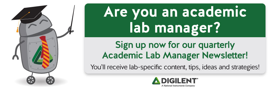 Banner advertising our new Lab Manager Program. Click on the banner to sign up if you qualify!