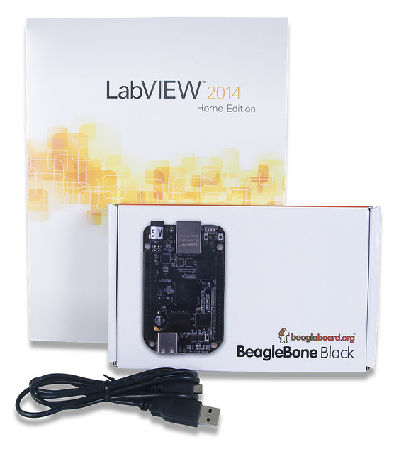 LabVIEW Physical Computing Kit for BeagleBone Black (LIMITED TIME)