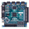 Top view product image of the Nexys 2 Spartan-3E FPGA Trainer Board.