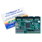 Product image of the CoolRunner-II CPLD Starter Board with its custom protective packaging.