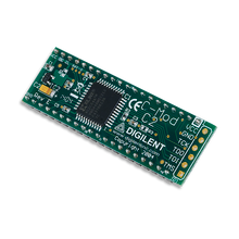 Cmod C2: Breadboardable CoolRunner-II CPLD Module product image.