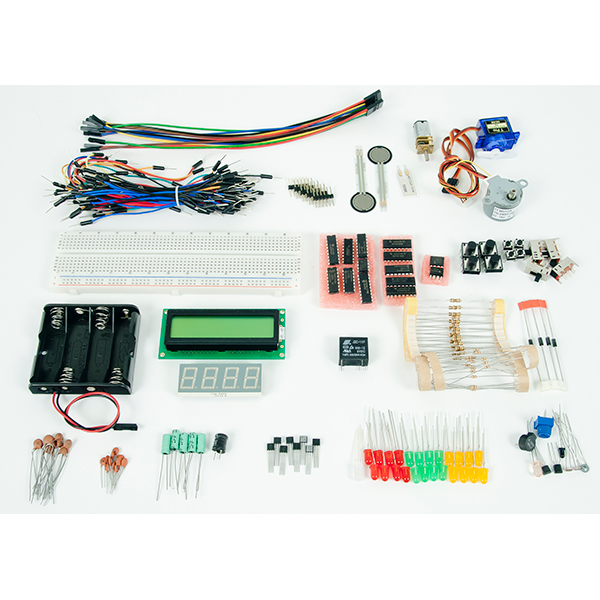 Project Starter Kit: Breadboardable Component Designed for MCU projects