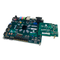Product image of the FMC-HDMI: Dual HDMI Input Expansion Card plugged in and in use with a ZedBoard FPGA. ZedBoard not included.
