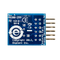 Bottom view product image of the Pmod ACL2: 3-axis MEMS Accelerometer.