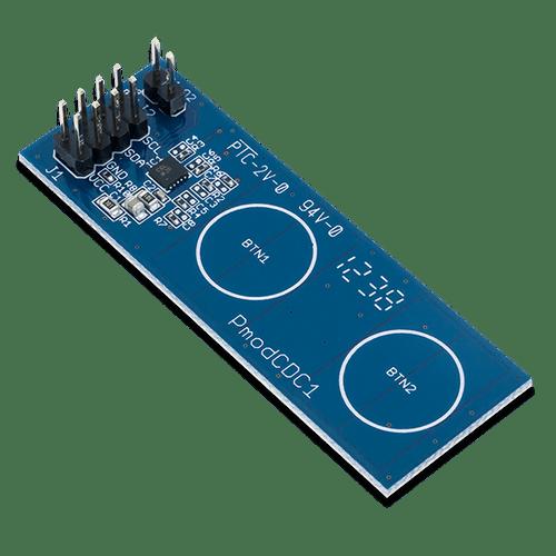 Pmod CDC1: Capacitative Input Buttons product image.