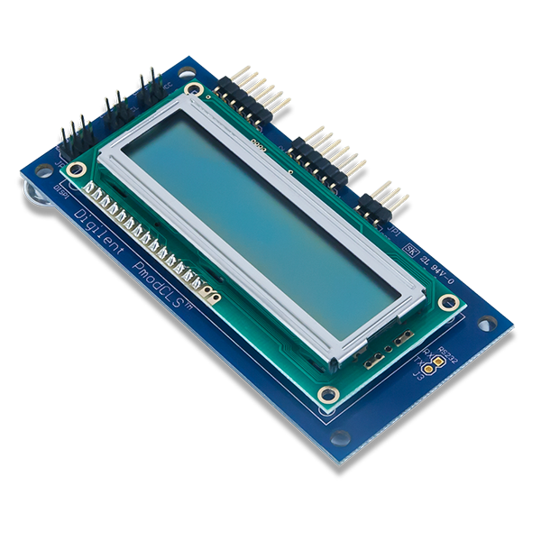 Pmod CLS │ 帶有序列介面的字元型 LCD 模組