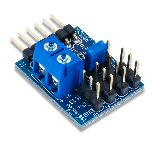 Pmod CON3 │ 遙控伺服連接模組