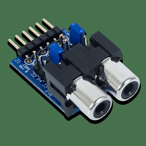 Pmod CON4 │ RCA音訊插孔模組