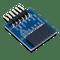 Pmod DA1: Four 8-bit D/A Outputs product image.