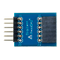 Top view product image of the Pmod DA2: Two 12-bit D/A Outputs.