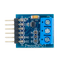 Top view product image of the Pmod DPOT: Digital Potentiometer.
