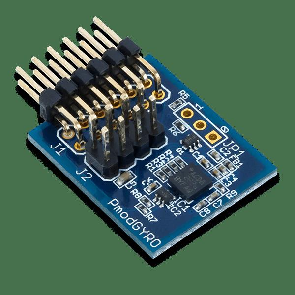 Pmod GYRO │ 三軸數位陀螺儀模組