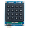 Top view product image of the Pmod KYPD: 16-button Keypad.