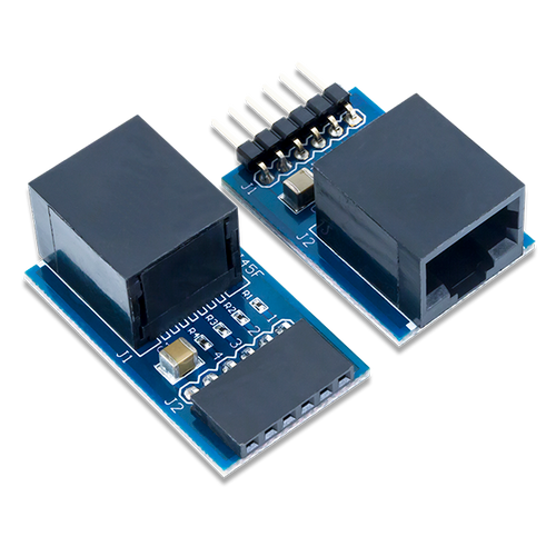 Pmod RJ45: RJ45 connector product image. Ships in a pair.