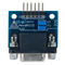 Top view product image of the Pmod RS232: Serial Converter and Interface Standard.