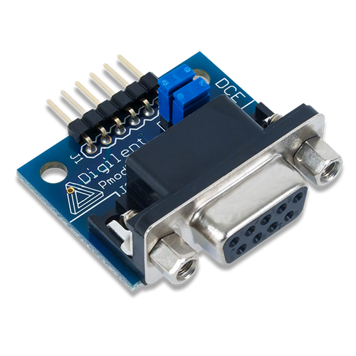 Pmod RS232: Serial Converter and Interface Standard product image.