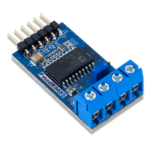 Pmod RS485: High-speed Isolated Communication product image.