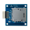 Top view product image of the Pmod SD: Full-sized SD Card Slot.